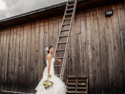 Catherine & Renato | Canada Wedding Photography | Caroline Cellars Winery, Niagara