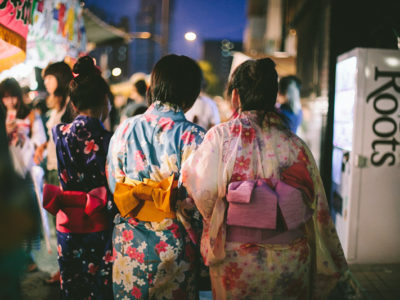 Aizen Matsuri // summer festival // Osaka, Japan
