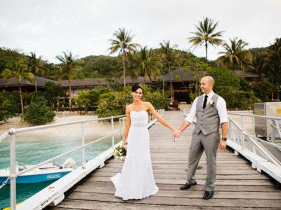 Candice & John {Fitzroy Island Wedding Photography}