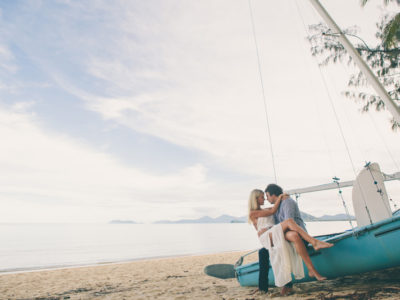 Steele & Nikki {Palm Cove Engagement Photography}