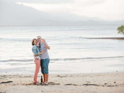 He proposed, and she said yes! {Port Douglas Engagement Photography}
