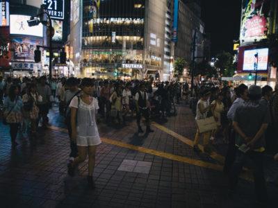 One night in Shibuya