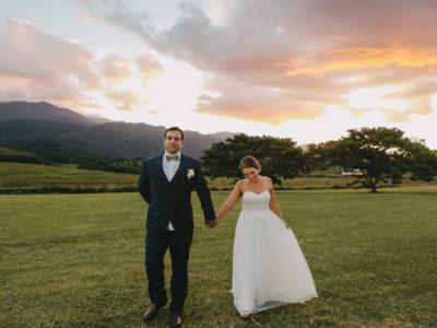 Tracey & Christian {Babinda Backyard Wedding}