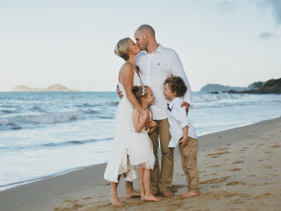 Brian, Kim, Ella & Max {Palm Cove Family Photography}