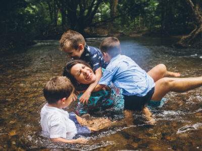Claudette + boys // Cairns Lifestyle Photographer