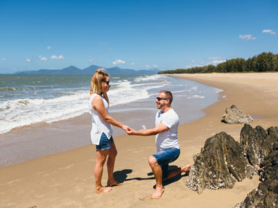 Colby & Caitlin proposal // Cairns Engagement