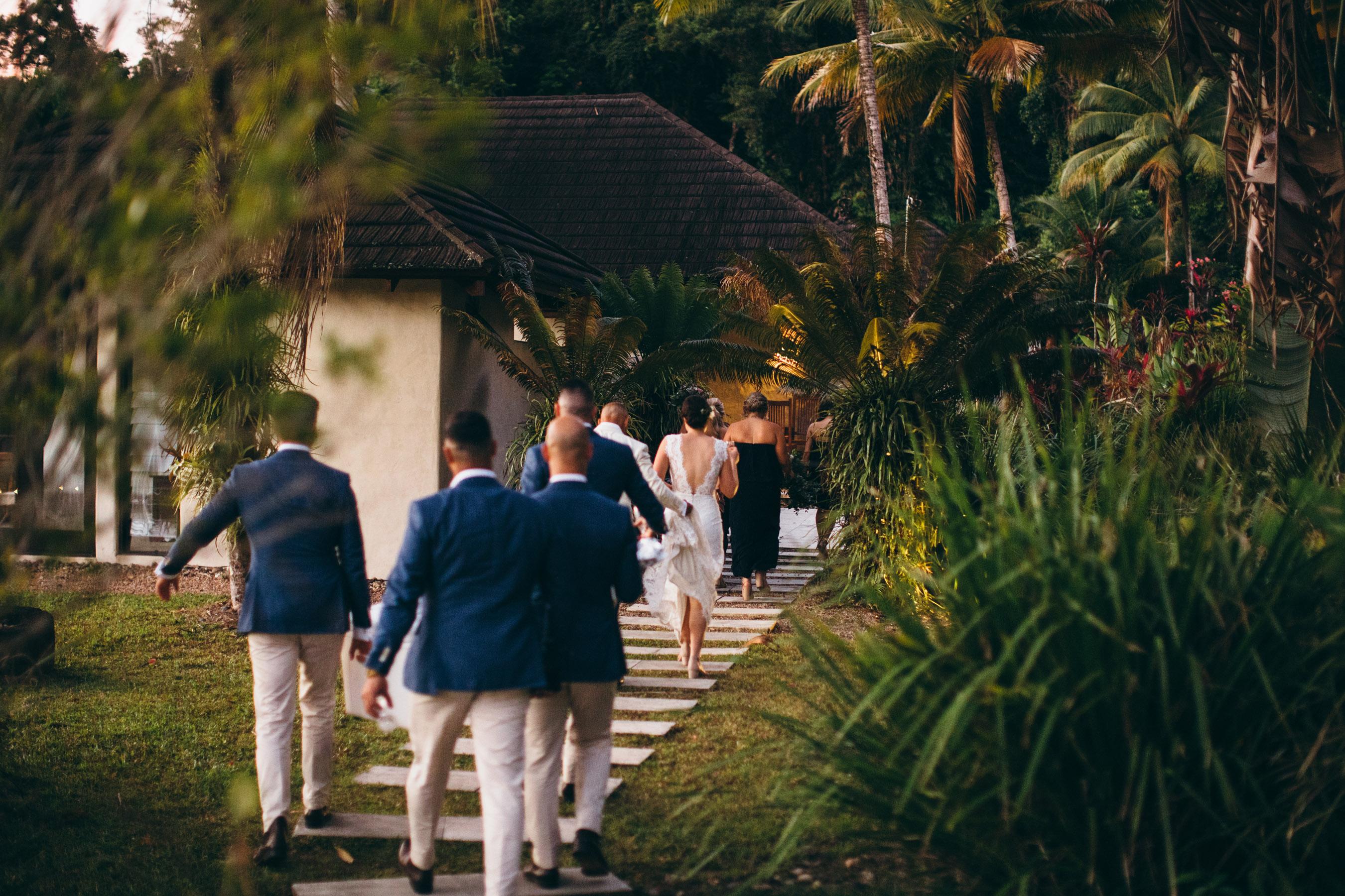bali hai port douglas wedding