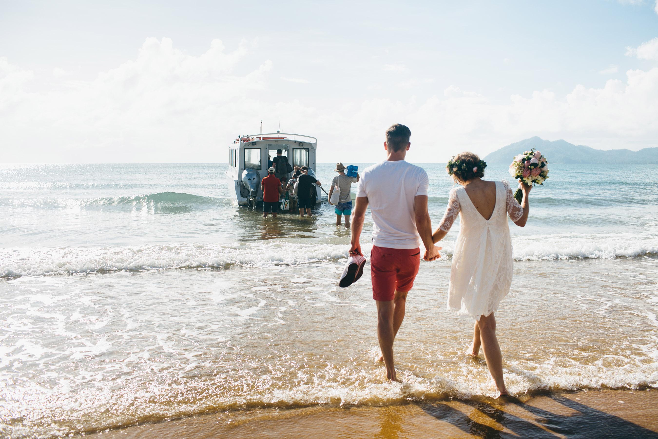 mission beach wedding