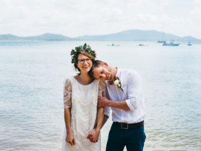 Pat & Zoe // Dunk Island, Mission Beach Wedding