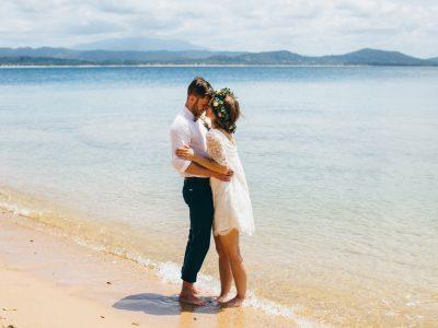Pat & Zoe // Dunk Island, Mission Beach Wedding