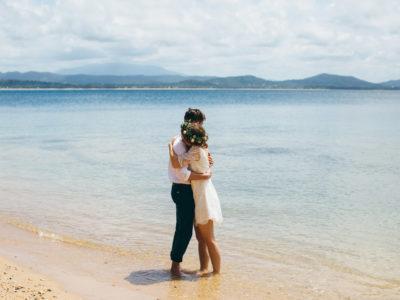 Pat & Zoe {Dunk Island, Mission Beach Wedding}