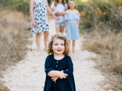The Davenports // Beach Lifestyle Family Session