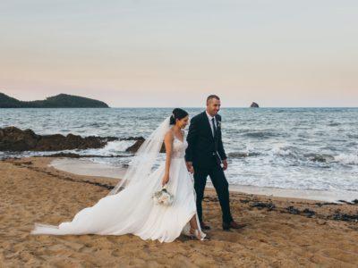 Angela & Ray, Palm Cove Beach Wedding