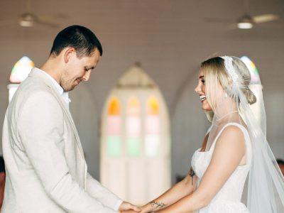 Sophie & Bill, St Marys By The Sea, Port Douglas Wedding