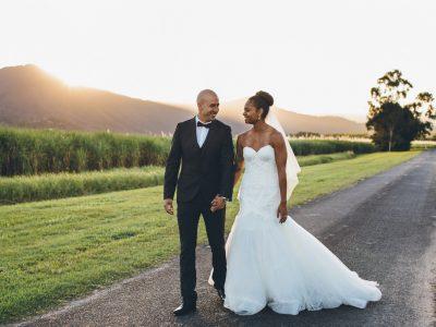 Rebecca & Joshua, Tjapukai Cairns Wedding